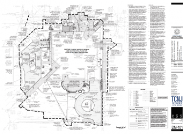 COLLEGE OF NEW JERSEY CONSTRUCTION LAYOUT AND AS-BUILT SERVICES